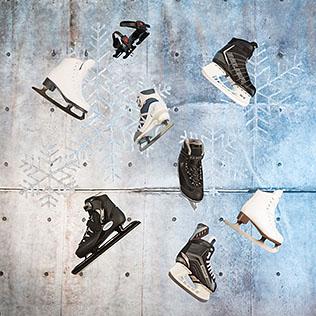 Eissportausrüstung