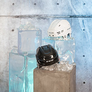 Eishockey-Helme © michael preschl photography