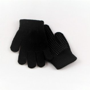 EissportWelt Fingerhandschuhe schwarz © EissportWelt
