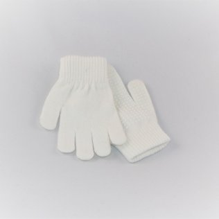 EissportWelt Fingerhandschuhe weiß © EissportWelt
